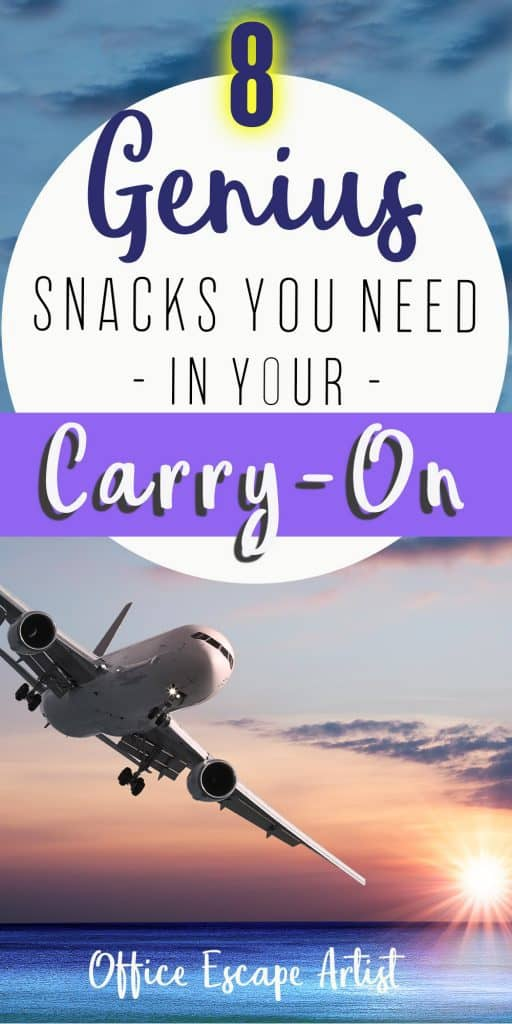 The ultimate guide for snacks in your carry-on