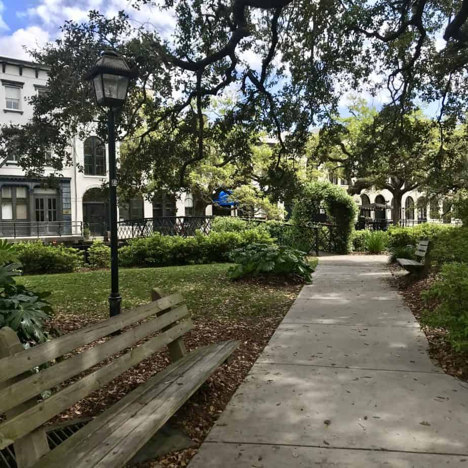 Long Weekend in Savannah: downtown