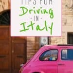 How to Drive in Italy