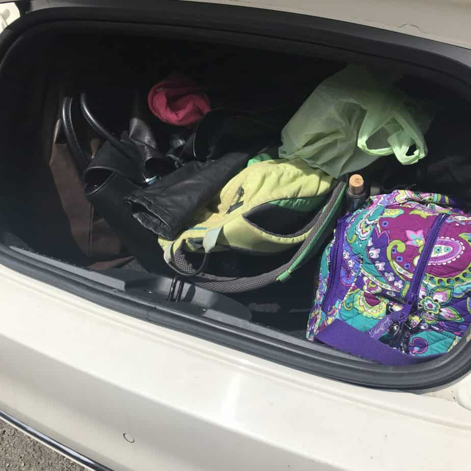 Fiat 500 - Small trunk space - Tips for Driving in Italy