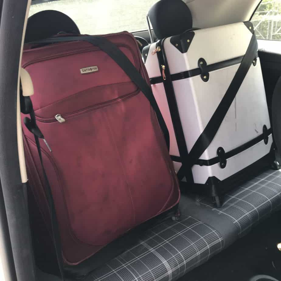 Fiat 500 - small back seat - Tips for Driving in Italy