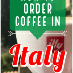 How to Order Coffee in Italy | Coffee culture in Italy is filled with unspoken rules, nuance, and a little bit of chaos. Ordering coffee is a bit like driving in Italy: a bit intimidating at first, but once you get the hang of it, really satisfying and quite easy. #italy #coffee #italianculture #wheninrome #solotravel #eurotravel #europetravel #tuscany