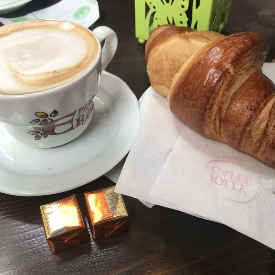 Coffee in Montepulciano