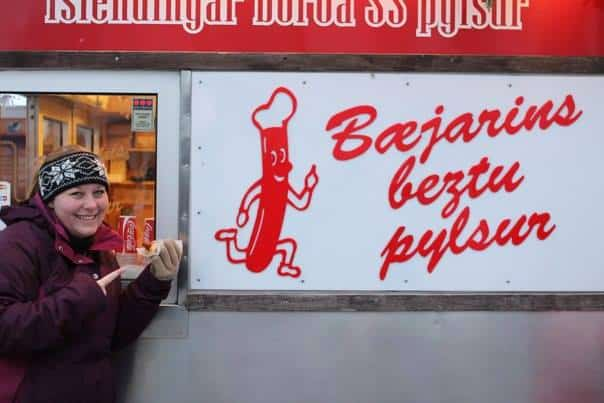 Iceland in December - Pylsur, Icelandic Hot Dogs
