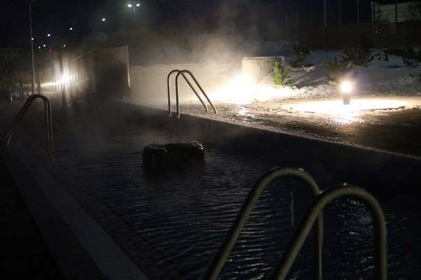 Iceland in December - Outdoor Thermal Baths