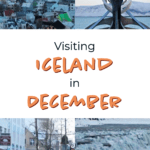 Visiting Iceland in December. Iceland may be cold in December but there is so much to do. From hunting the Northern Lights to hiking volcanic glaciers, there's something for everyone! | Iceland | Reykjavik | Northern Lights | Things to Do in Iceland | Visiting Iceland in the Winter | Europe Travel | Travel Destinations