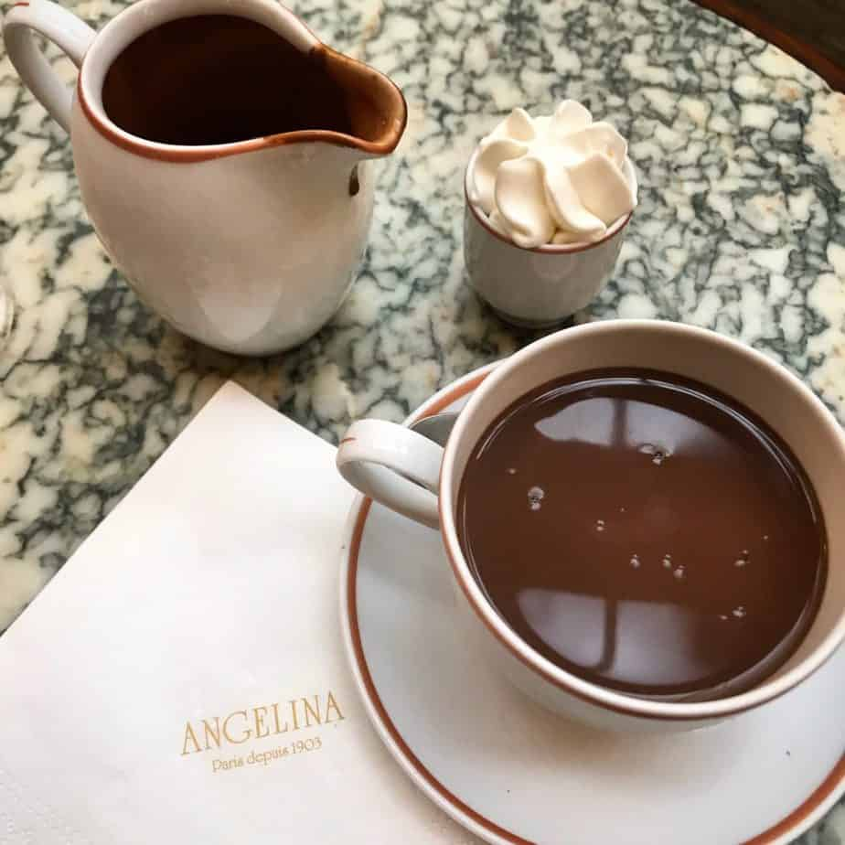 Hot Chocolate Paris - Angelina