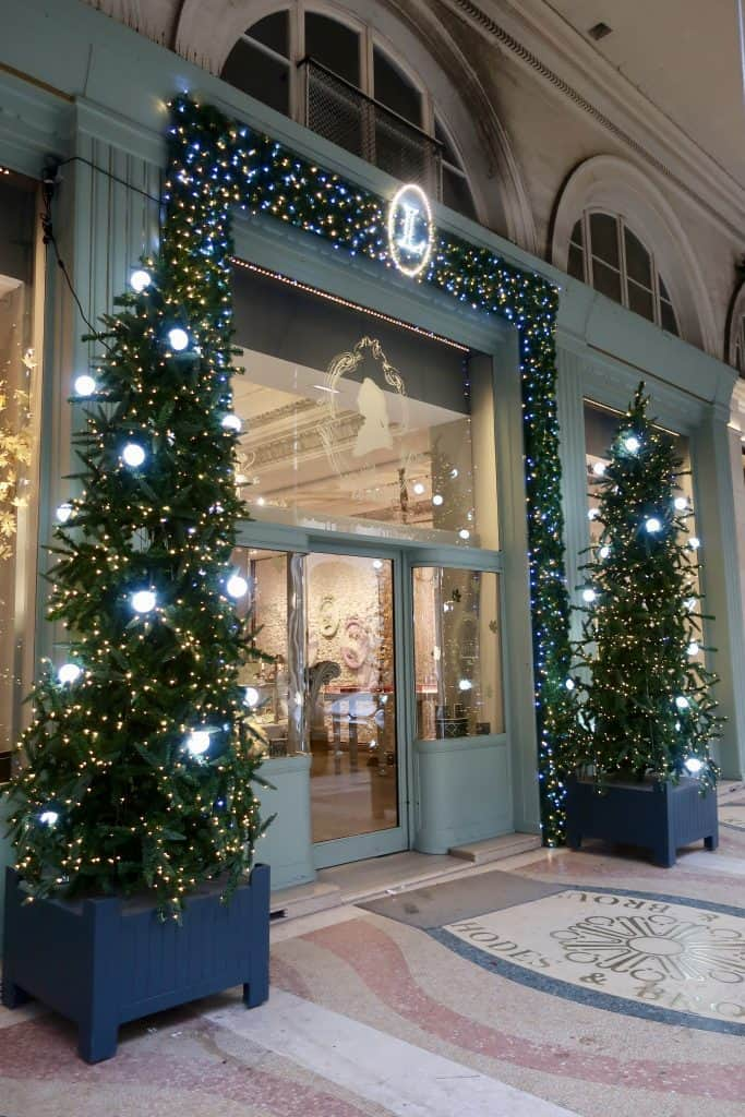 Laduree Paris at Christmas