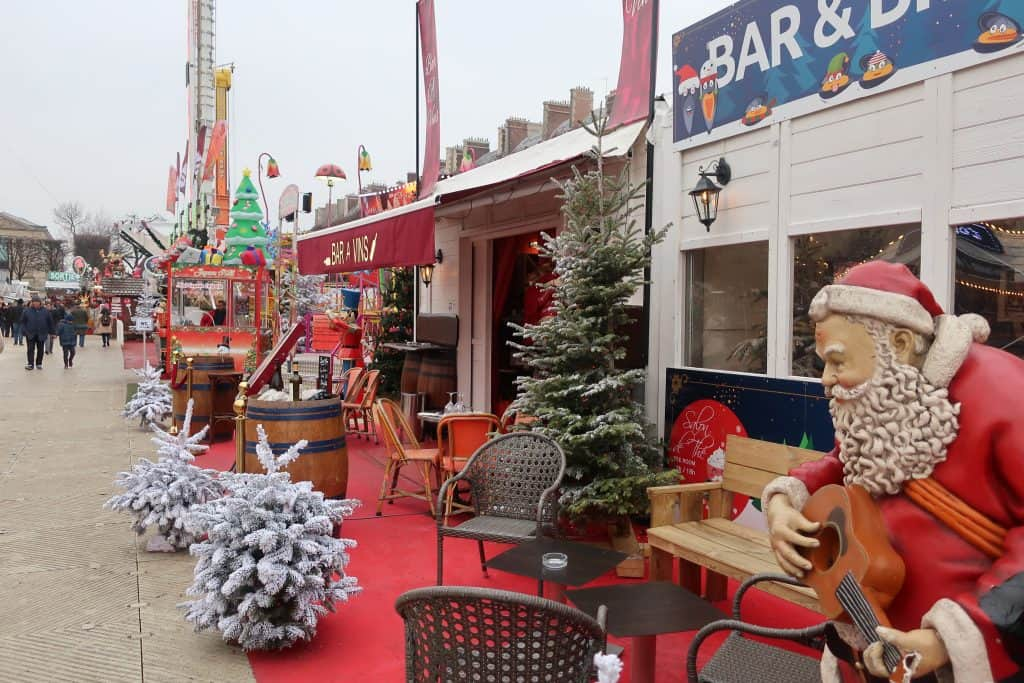 Tuileries Christmas Market Paris in Janaury