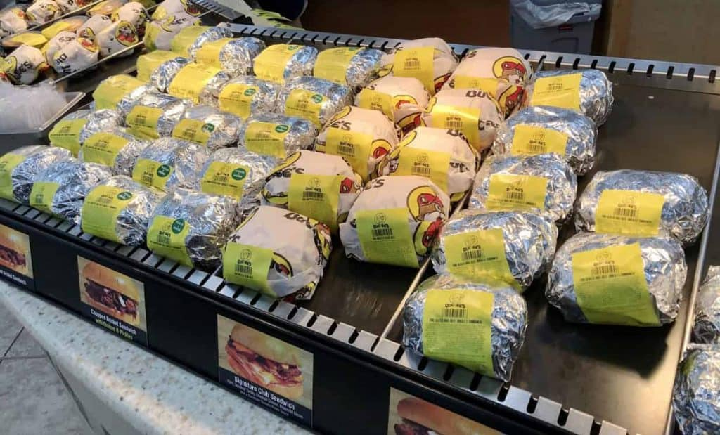 Best things to buy at Buc-ee's: BBQ sandwiches