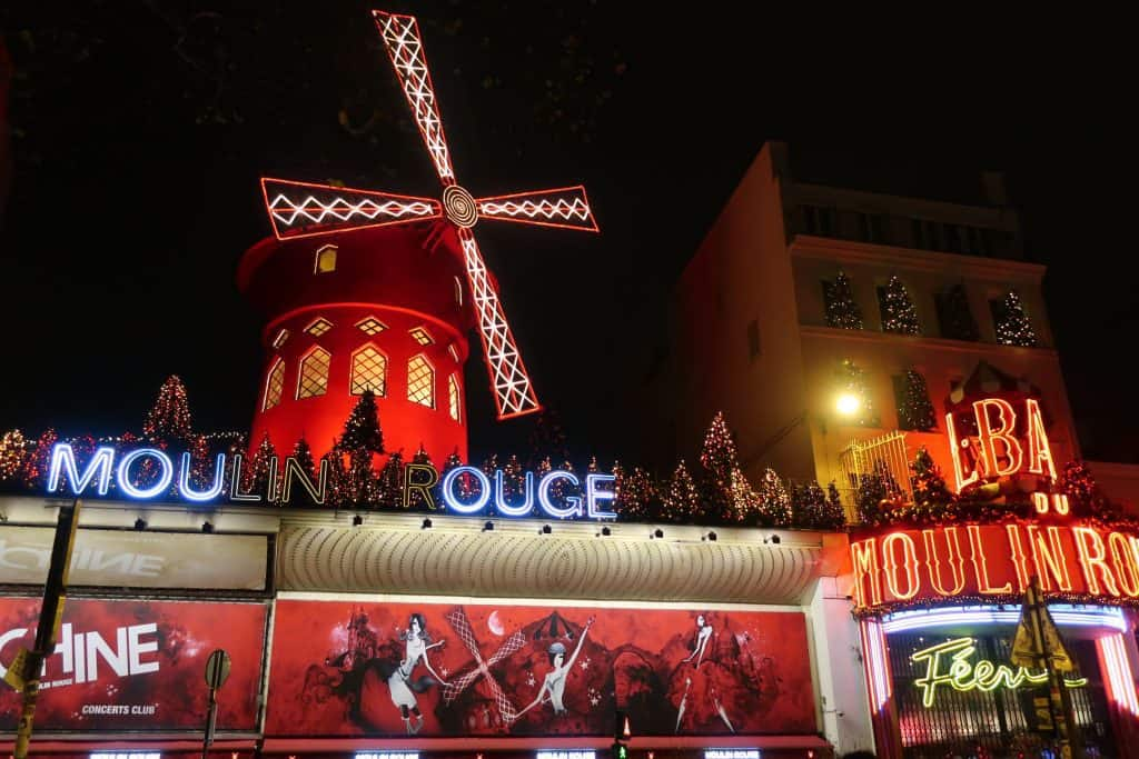 Visit Paris in January and Enjoy the show at the Moulin Rouge
