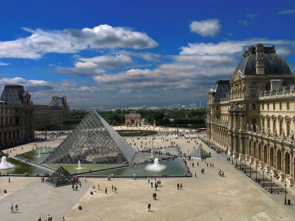 The Louvre in Paris - Tips for Visiting Paris for the First Time